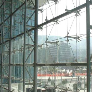Heavy Structural Point Fixing Glass Curtain Wall With Big