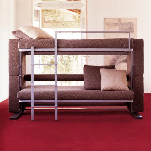 Sofa Beds Cover In Brown Color