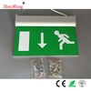 Double Sides Rechargeable Emergency LED Exit Sign Lamp Exit Light