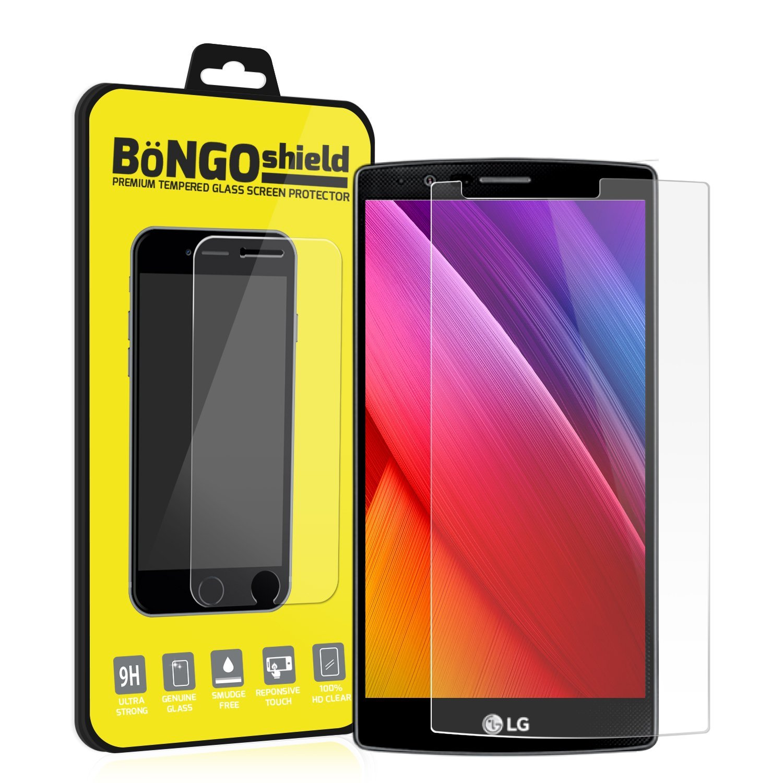 BinTEK Bongo Shield LG G Stylo Screen Protector / G4 Stylus Screen Protector PREMIUM Ballistic G Stylo Tempered Glass Screen Protector / Compatible with models H540T H630 H630D H631TN H634 H635 H636