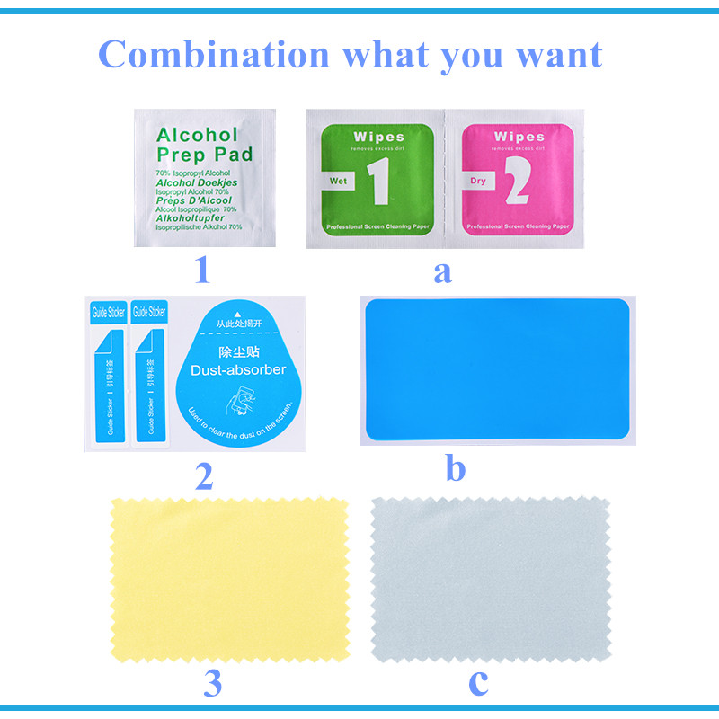 wet wipes tempered mobile screen dust absorber wholesales price