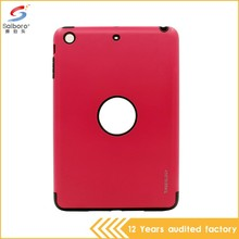 Heavy Duty Shockproof high quality design two in one cell phone case for ipad air 2