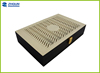 Hollow Design logo engraved wooden tea box packaging