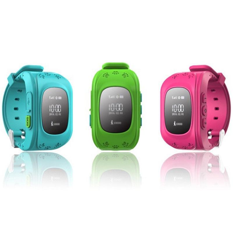 Q50 малыш GPS часы наручные часы SOS звонок расположение искатель локатора трекер для малыша ребенка анти-потерянный монитор маленького сына подарок