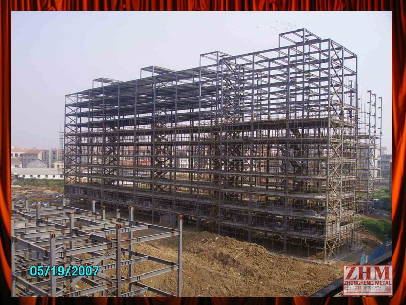 79f8aabfbc0d Prefabricated Structural Steel Highrise Building Space Frame Construction