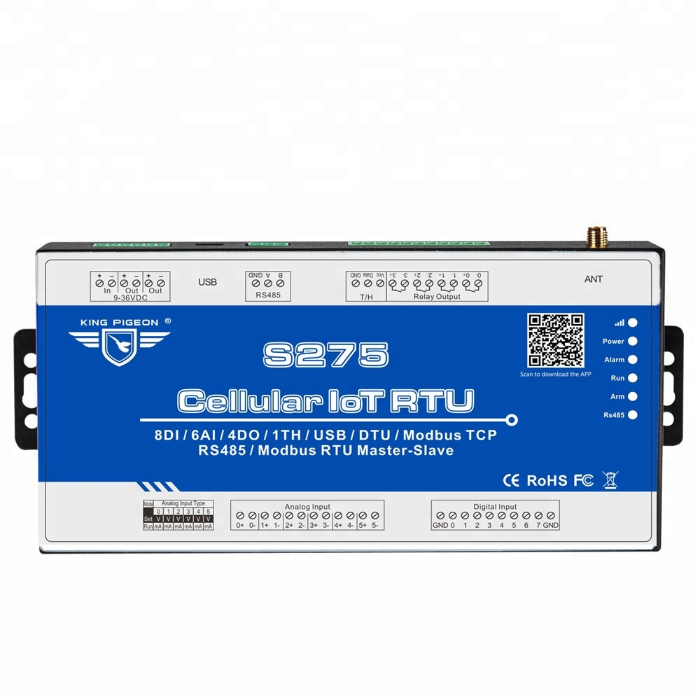 Gsm Rtu Controller S275 Gsm Sms Controller M2m Telemetry,Industry  Automation Plc Control - Buy M2m,Gsm Rtu Telemetry,Gsm Sms Controller  Product on