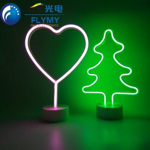 LED moon cloud lights for kids home decorate moon neon light sign