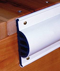 Taylor Made Products 46013 Comm Dock Side Guard Coil Retail Pack, 10-Feet, White