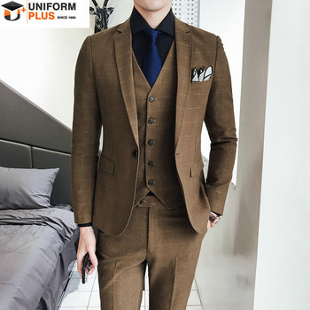 Slim Fit Suits For Men Mens Shiny Suit