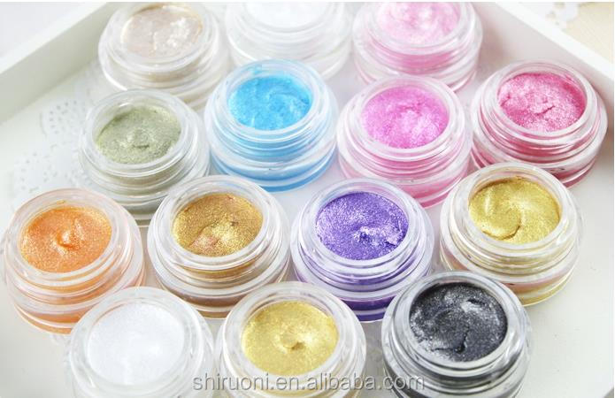 Private Label Stereo Pearling Shimmering Eyeshadow Cream