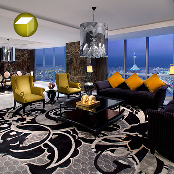 Modern Hand Tufted Carpet And Rugs For Hotel Room Luxury Living Room ...