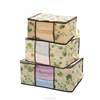 high quality underbed storage /Blanket Quilt large storage bags/Folding Underbed Clothes Organiser with Cover