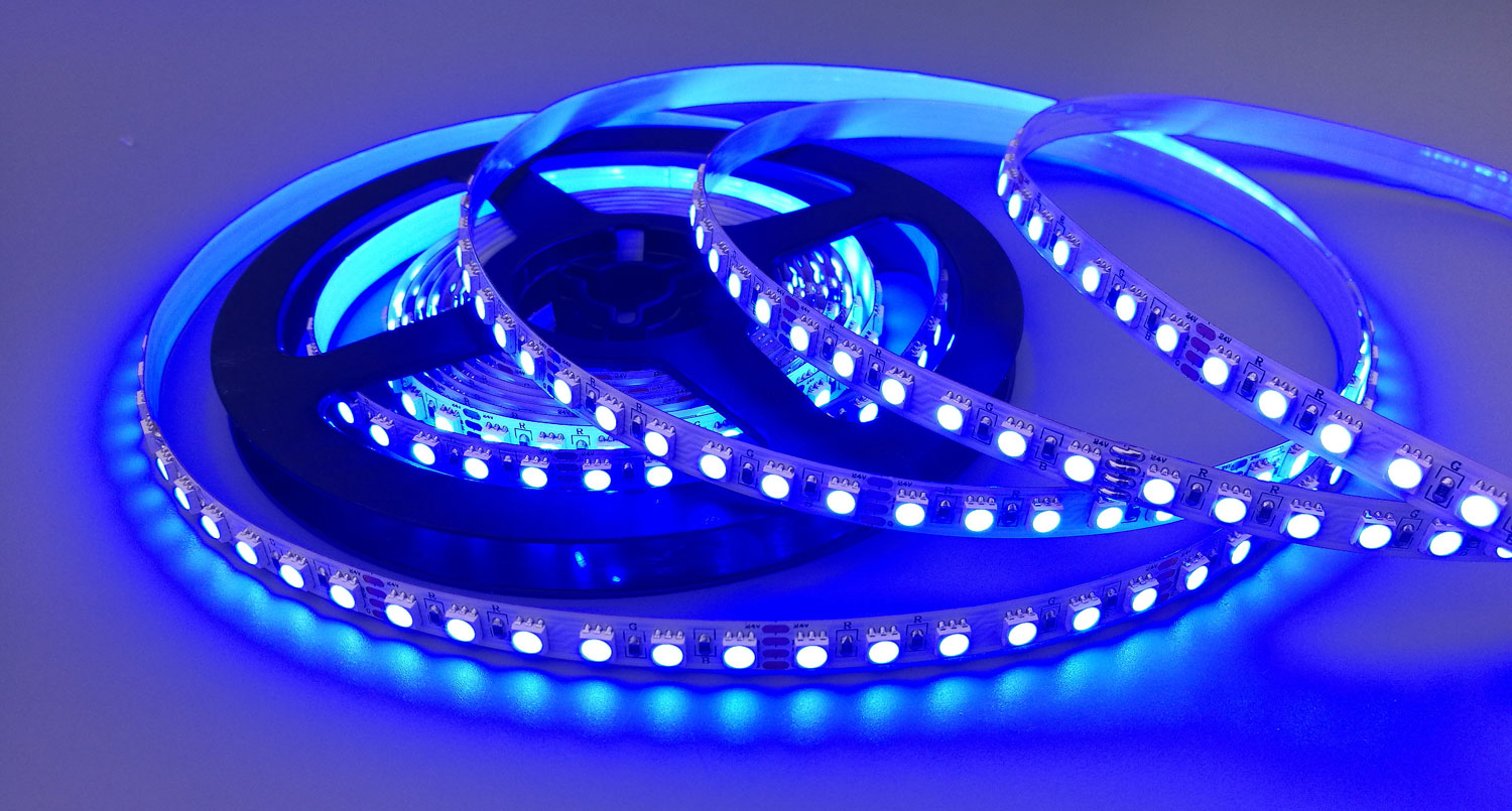 Mul-ti Color Low Cost Magic RGB 5050 SMD LED Strip Light