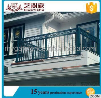 Modern Simple Outdoor Balcony Steel Grill Designs Cheap Used Wrought