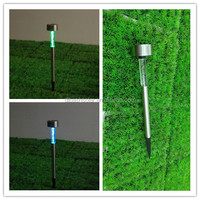 Colorful Garden Outdoor Plastic LED Solar Landscape Path Lights Yard Lamp