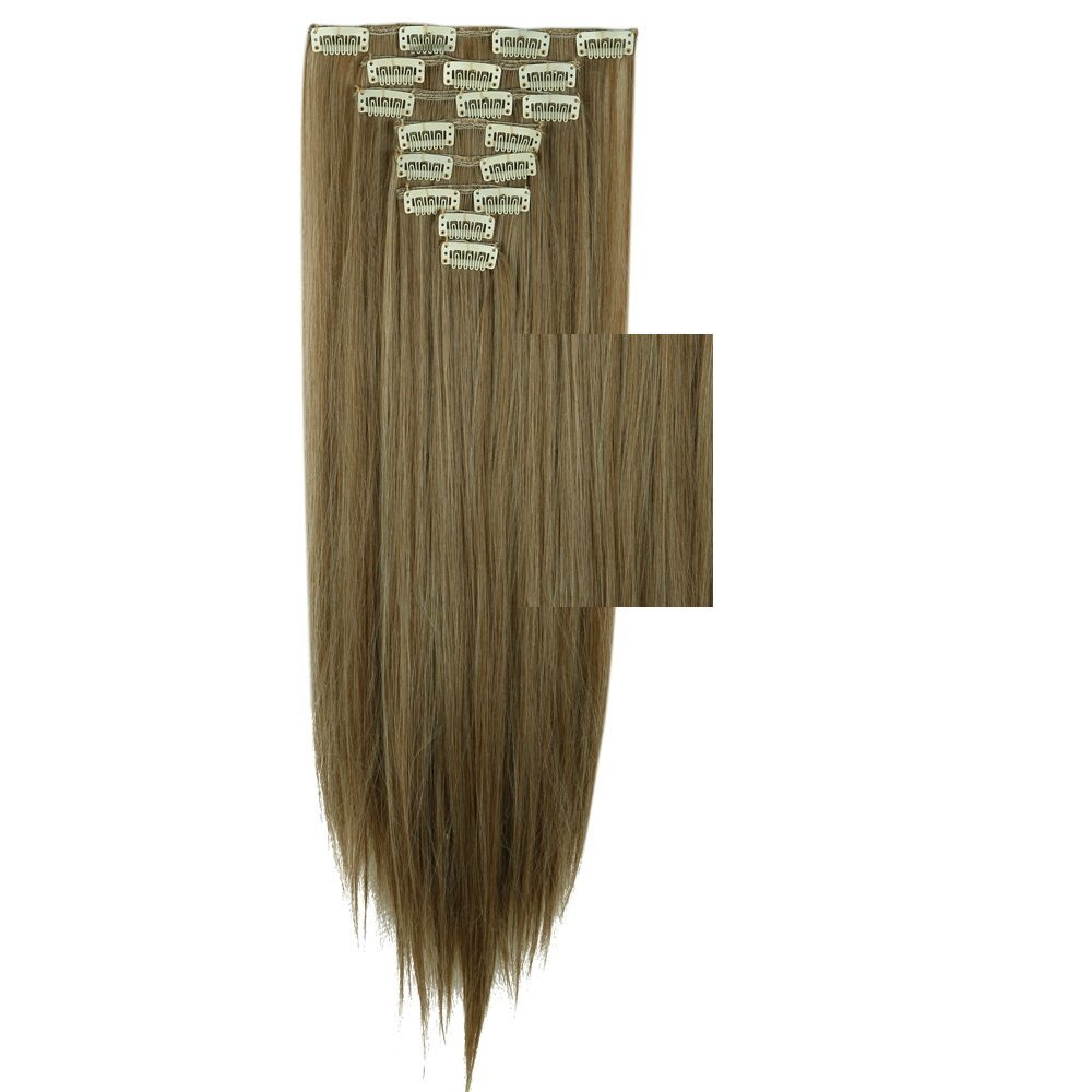 Buy 8 Color 23quot Straight Full Head Clip In Hair Extensions