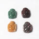 Wholesale baby buddha statue China feng shui fortune laughing crystal jade buddha head beads