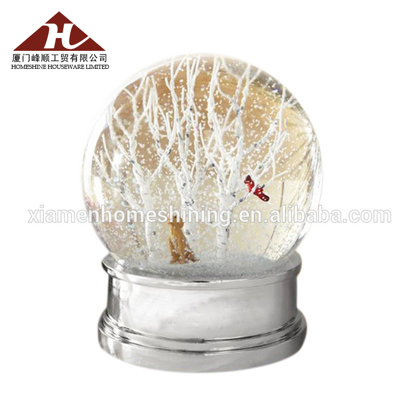 Custom Home Decoration Souvenir Resin Snow Globe