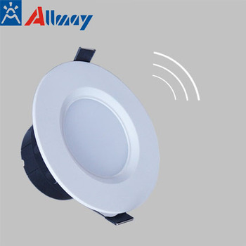 Parking garage motion and micro-wave sensor led downlight lights