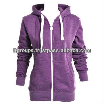 Womens Zip Up Hoodies - Buy High Quality Zipper Hooded Sweatshirt ... 4dc4c4e62