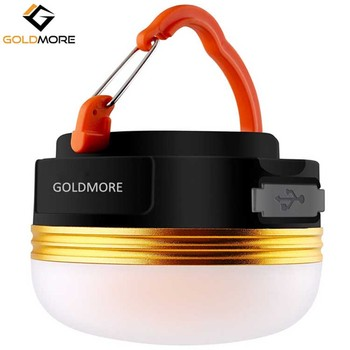 Goldmore Outdoor Led Small Portable Usb Rechargeable 1800mah Bank Camping Lantern