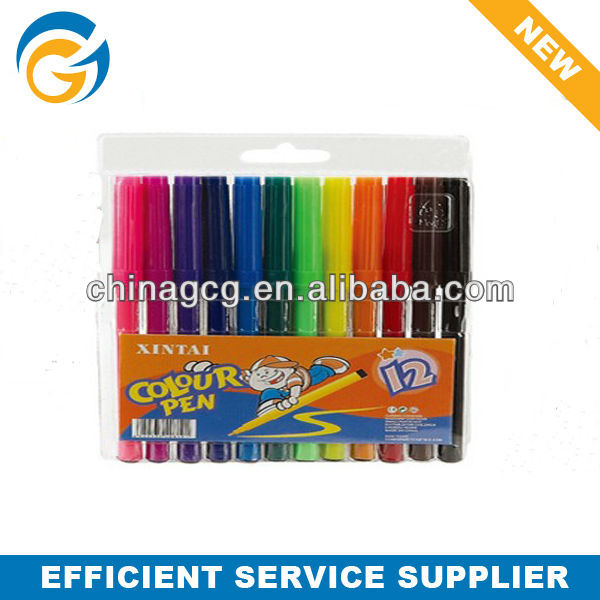 12pcs Drawing Water Color Marker Pen Set for Kids in School