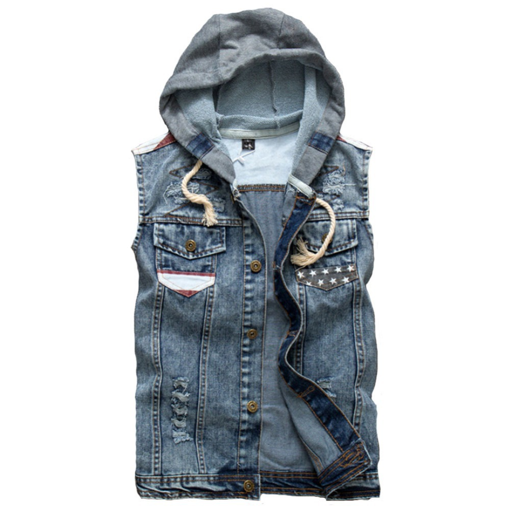 Cheap Blue Jean Sleeveless Jacket, find Blue Jean Sleeveless ...