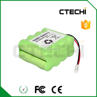 Rechargeable 9.6V nimh AA 2500mah RC toy/medical equipment battery packs