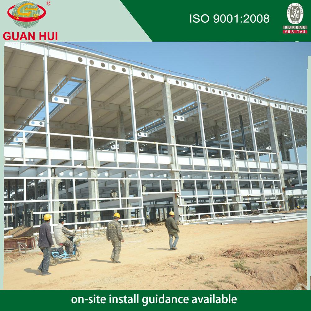 Dos pisos estructura de acero distribución dibujo almacén por ...