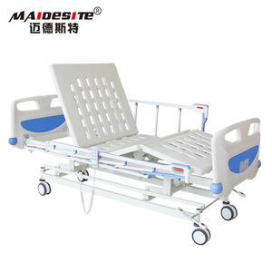 Cheap price three functions medical furniture electric katil hospital bed