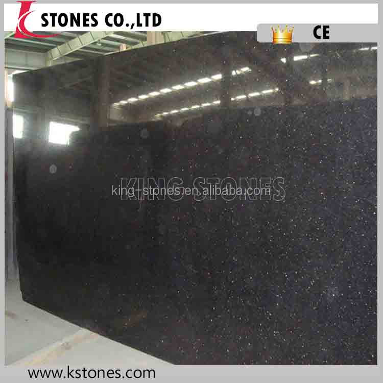 China factory indian black galaxy granite price