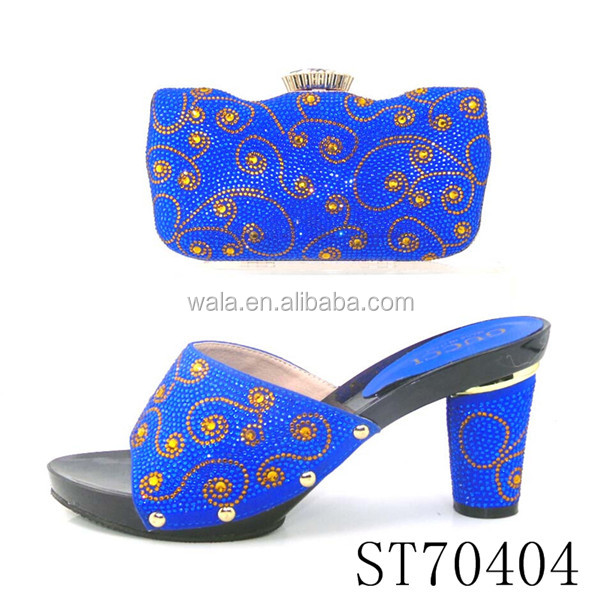 wholesale shoes ST70405 Italian for wedding matching fashion with bags set dww4qTPt