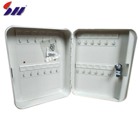Supplier Cold Rolling Steel Security Safe Deposit Holder Box Key Locker