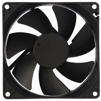 92mm lage watt fan 12 v dc motorcycle koelventilator