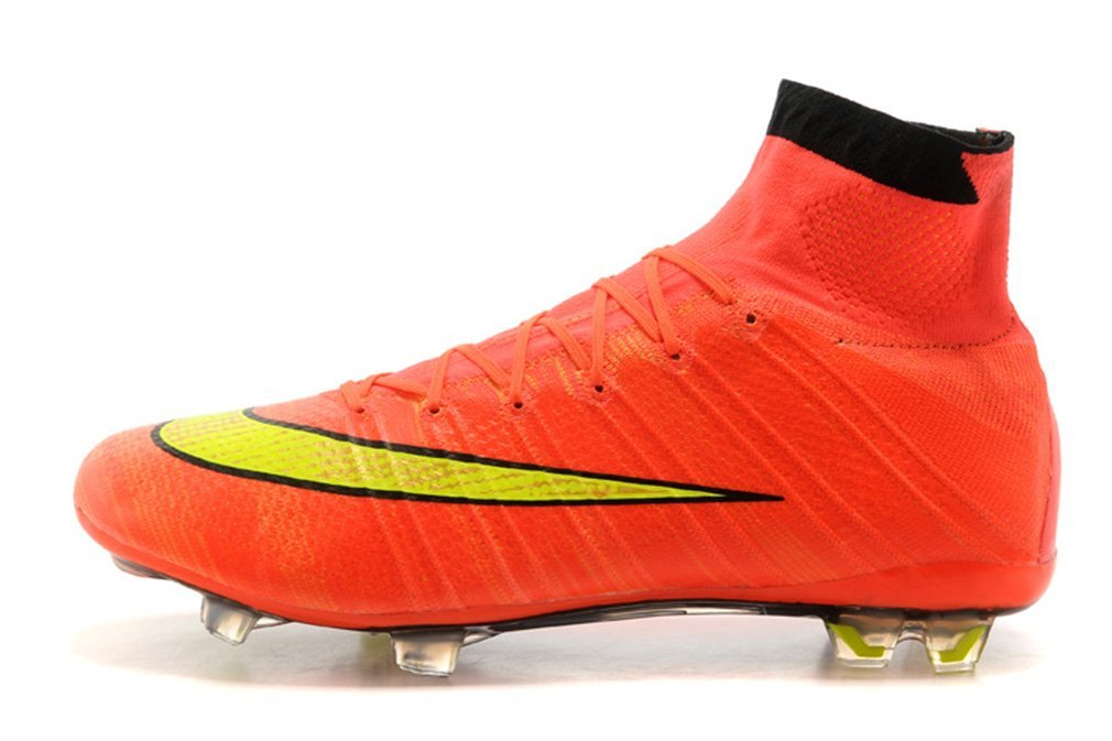 buy popular 2fa2c 71cee Get Quotations · Mens Mercurial X Superfly IV FG - Hyper Punch-Gold-Black  High Top Football