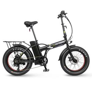 20*4.0 inch 250w 350w 500w snow beach folding electric fat bike