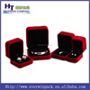hot sale luxury velvet jewelry box series for ring/necklace/bracelet/earings,wedding case