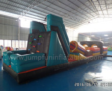 EN15649 Inflatable Obstacle Course , Interactive Inflatable Obstacle , Kids Obstacle course Equipment