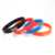 China Supplier 2019 Newest Embossed Pulsera Souvenir Wristband Slap Custom World Cup Silicone Bracelet