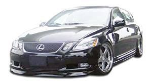 2005 Facelift Fit FOR Lexus GS350 GS430 GS K Look Roof Lip Spoiler Painted #202