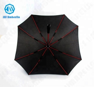 Cheap Promotion Advertisement Square Rain Straight Umbrella
