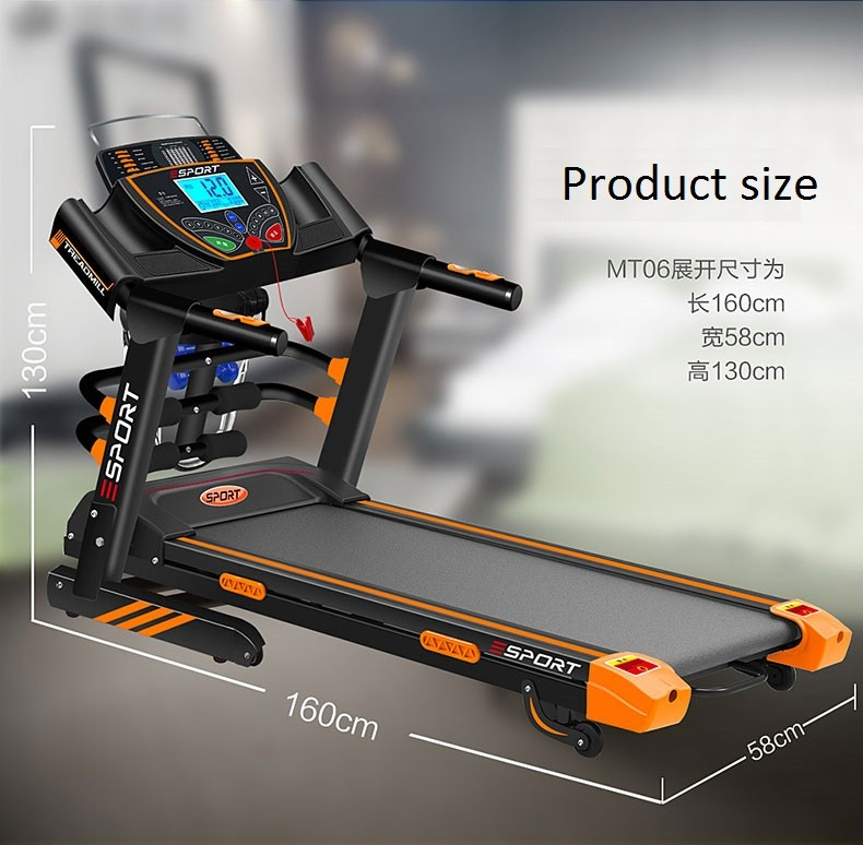Home Treadmill Folding Running Machine Commercial Gym ...