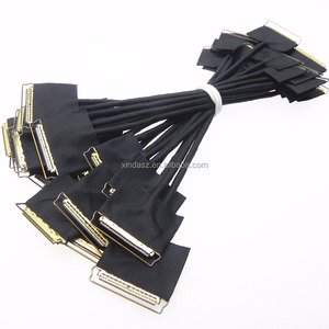 Custom 30pin lcd flex cable for sony 40pin to 30pin led to lcd converter cable