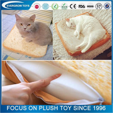 best selling wholesale plush bread pet bed