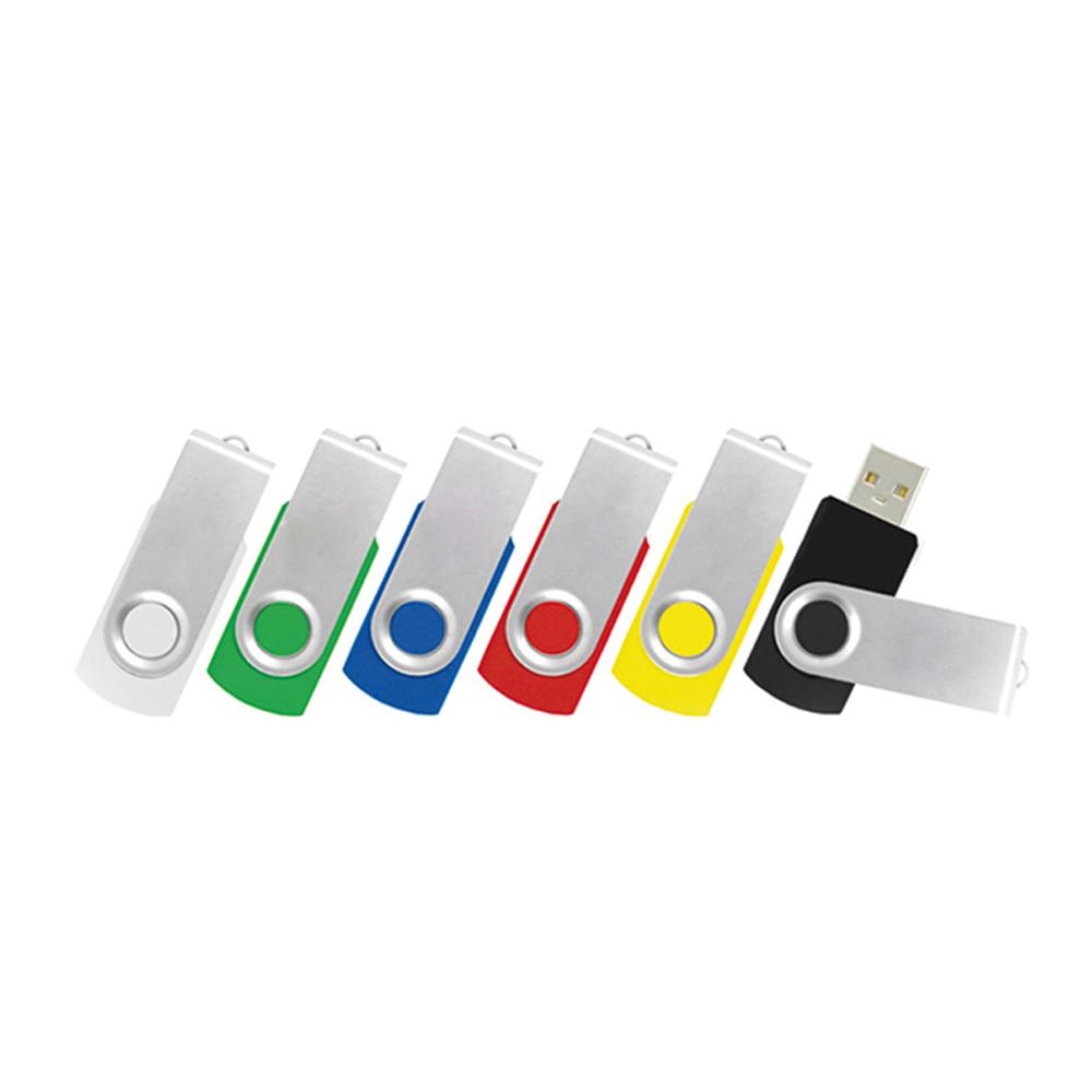 Swivel Rotate Plastic Case 32MB 1GB 2GB 4GB 8GB 16GB 32GB Usb Memory Pendrive Stick Plastic Micro Usb Flash Stick