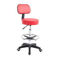 Hot Sale Fashion Hydraulic Drafting Stool PU Leather Stool Chair for Hotel Furniture