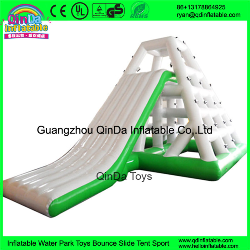 Inflatable Chinese Kids Games Durable Material Large Floating Water Slide