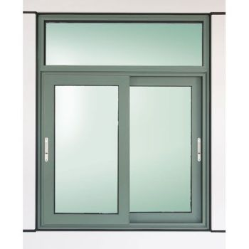 House sliding window with fixed top panel buy house Price for house windows