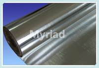Roofing Insulation Material,Aluminum Foil Woven Fabric, Metalized film laminated with woven fabric