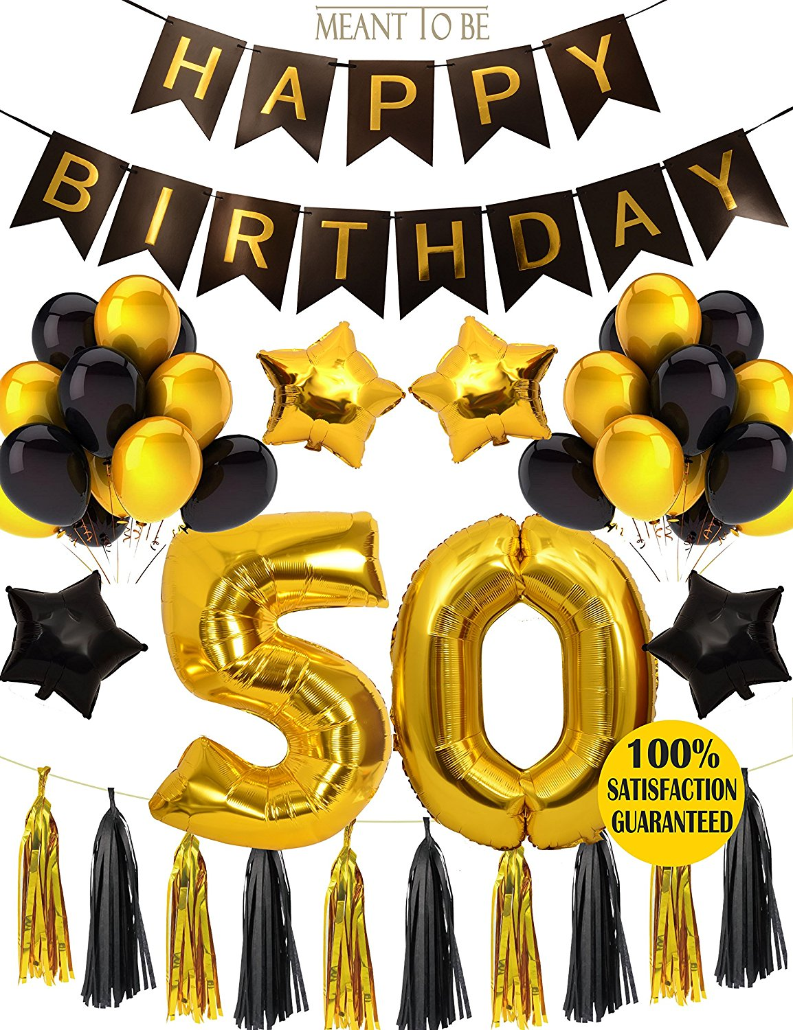 Get Quotations 50th BIRTHDAY PARTY DECORATIONS KIT